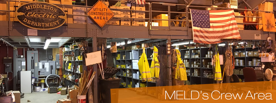 Middleton Electric Light Dept's Crew Area