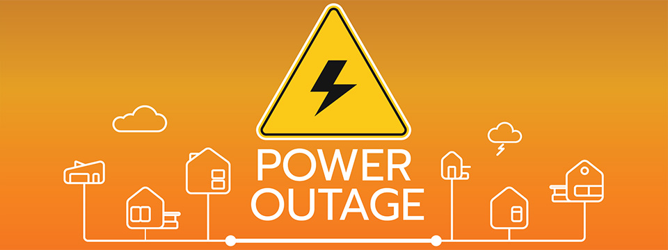 Report An Outage graphic
